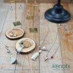組紐(くみひも)アクセサリー「kenohi」ネックレス、ブレスレット、ピアスなど2016S/Sコレクション入荷しました。