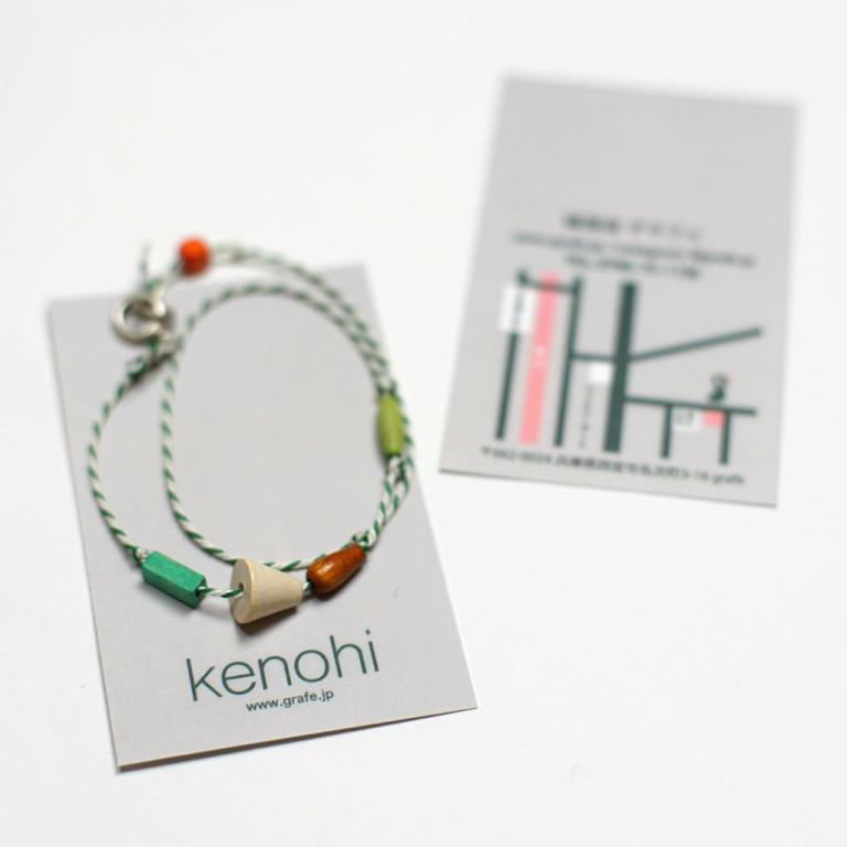 ハンドメイドアクセサリー、kenohi。