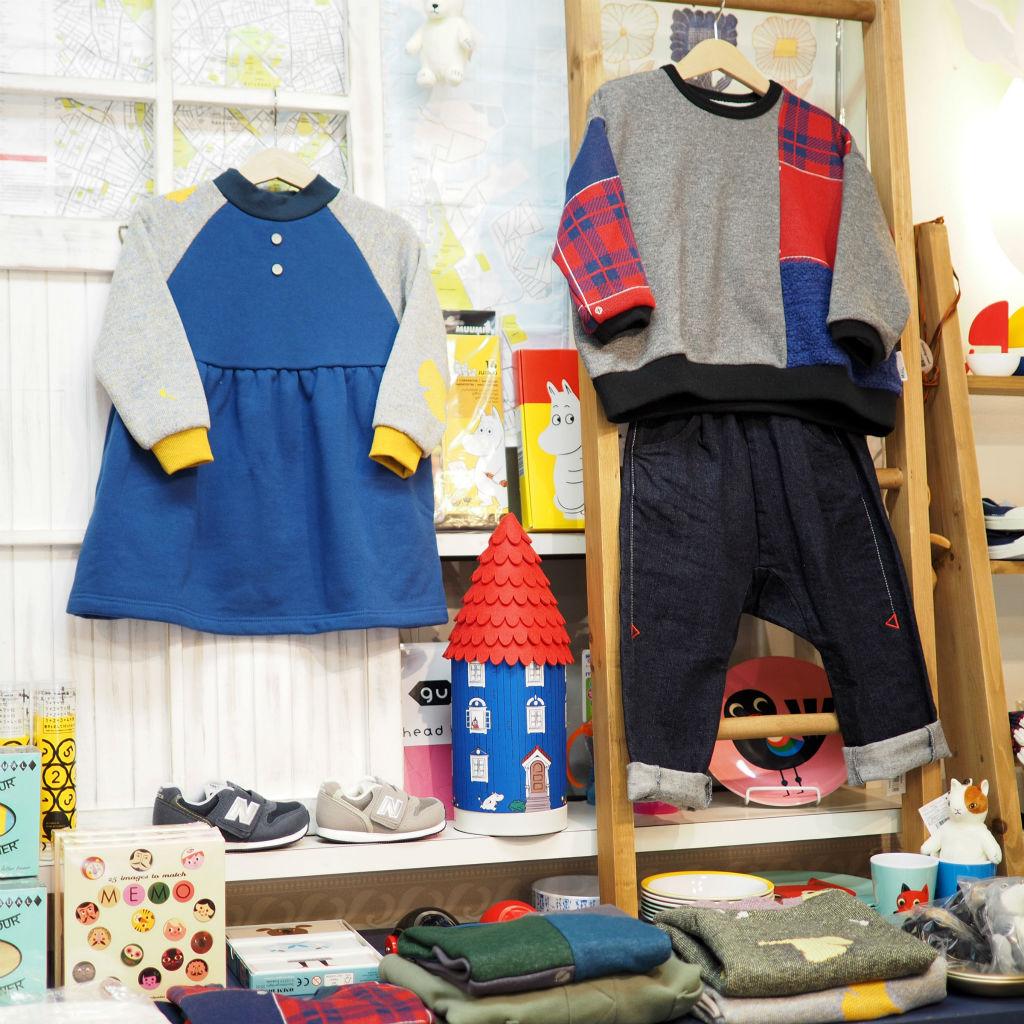 秋冬の子供服&キッズ雑貨