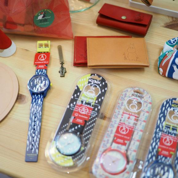 MOOMIN × Q&Q SmileSolarのコラボモデル腕時計が登場!
