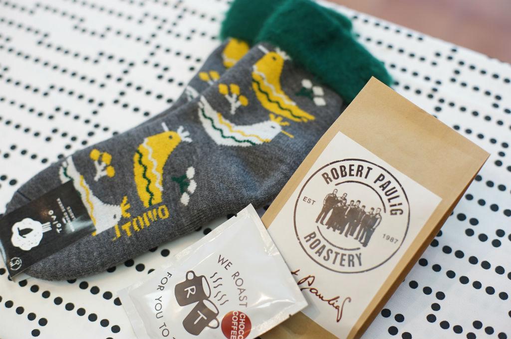 モコモコソックスとロバーツコーヒーで厳しい冬を乗り切ろう!