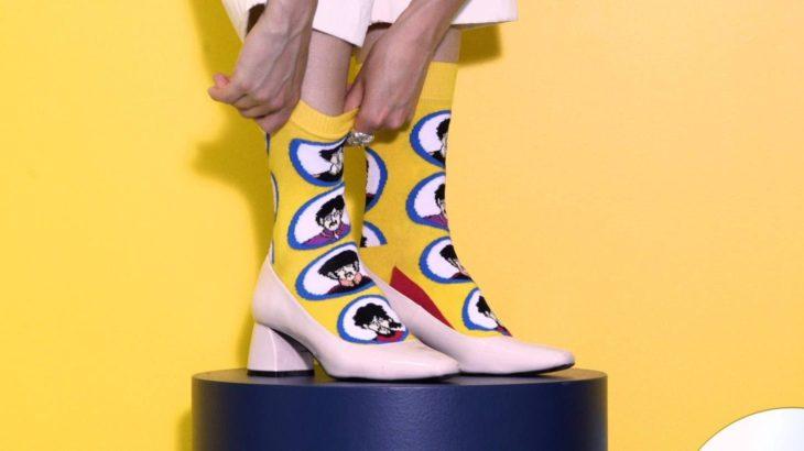 Happy Socks × THE BEATLES 限定版コラボレーションソックス
