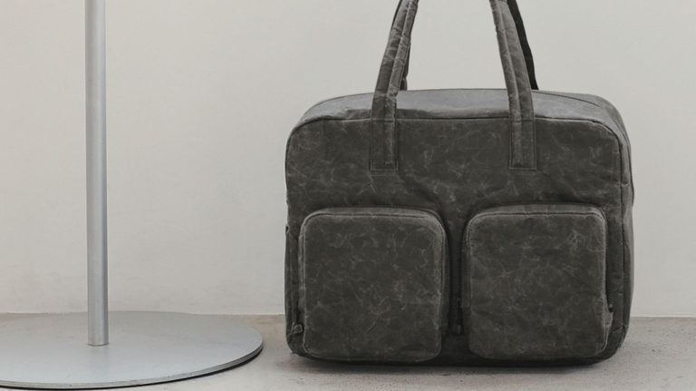 SIWA|紙和 オーバーナイトバッグ