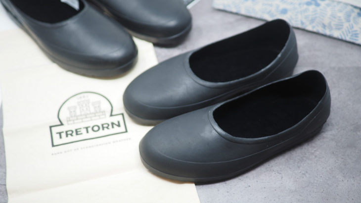水や泥からいつもの靴をカバーするTRETONのガロッシュ