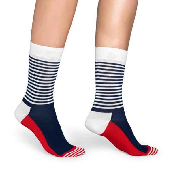 Half Stripe Sock(Happy Socks ハッピーソックス)