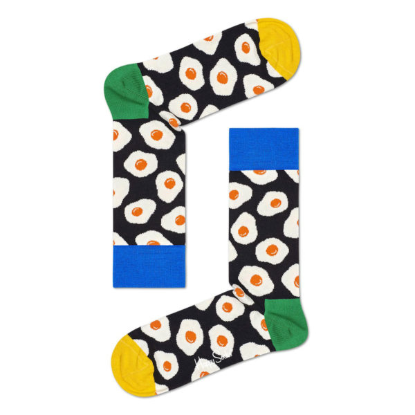 Sunny Side Up Sock ブルー(Happy Socks ハッピーソックス)