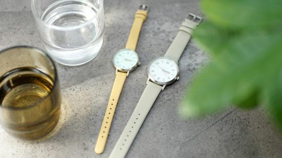北欧のシンプルモダンなデザインと環境に配慮したソーラーシステムの融合、innovatorの腕時計「SOLKRAFT」