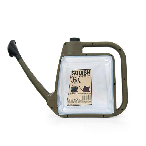 SQUISH watering can スクイッシュ ウォータリングカン 6L カーキ