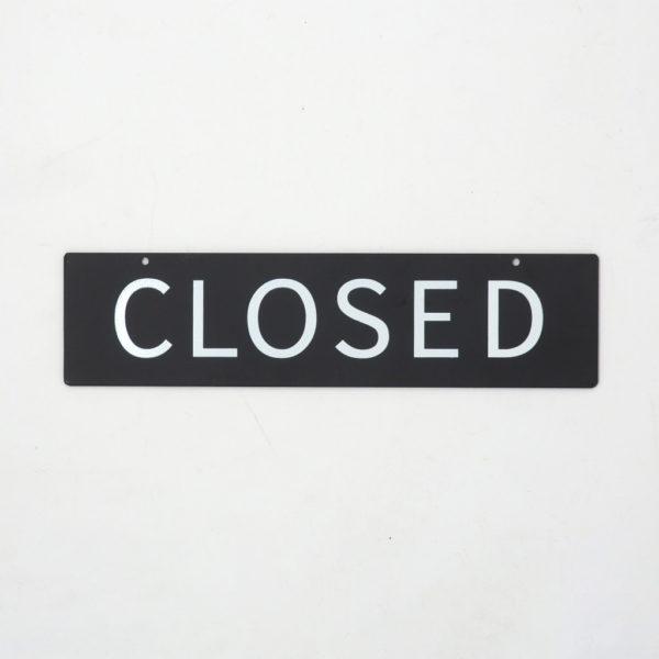 Homestead アイアンサイン OPEN / CLOSED
