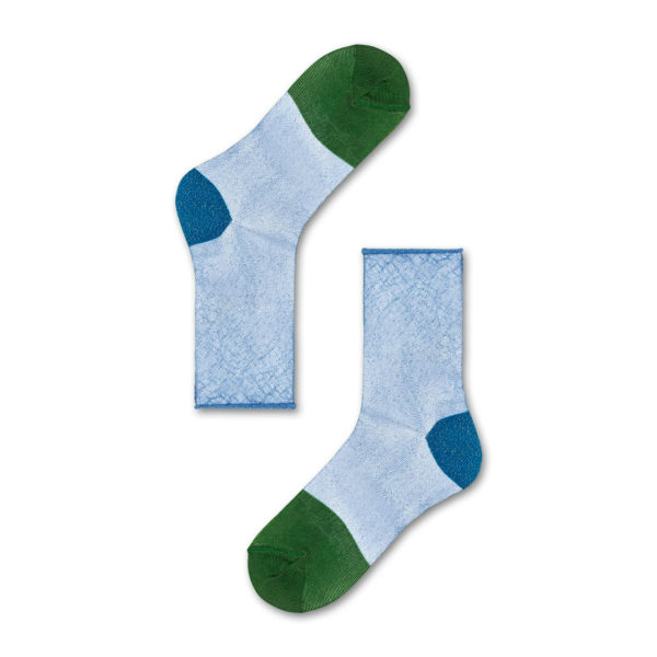Franca Ankle Sock ブルー(HYSTERIA ヒステリア)