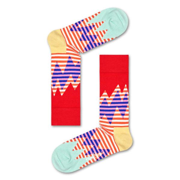 Stripe Reef Sock レッド(HappySocks ハッピーソックス)