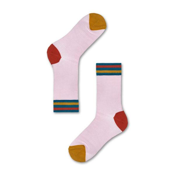 Lona Crew Sock ピンク(HYSTERIA ヒステリア)