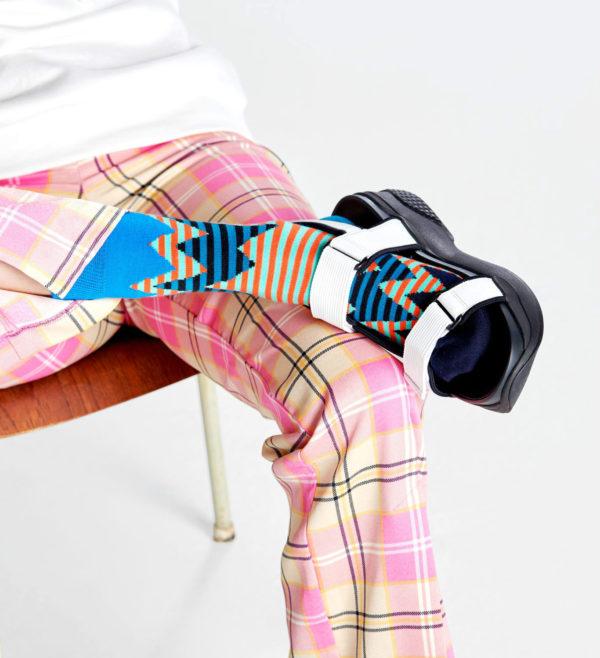 Stripe Reef Sock ブルー(HappySocks ハッピーソックス)