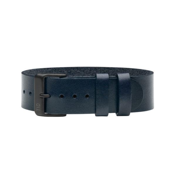 TID Wristband レザーリストバンド ネイビー(TID Watches ティッドウォッチ)