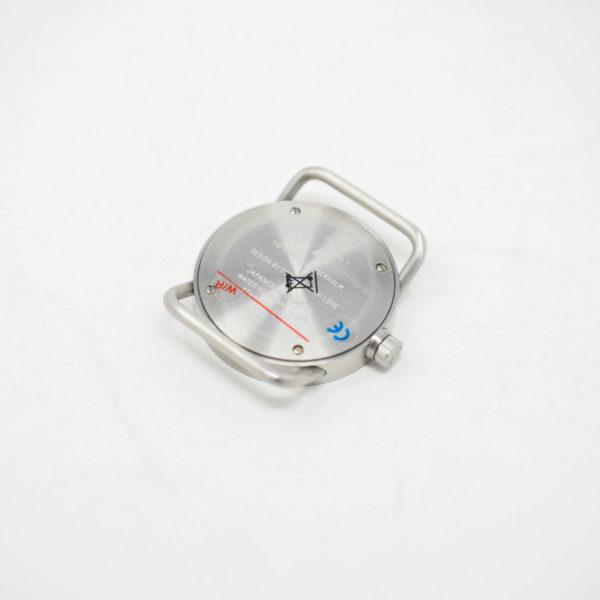 TID No.1 33mm フェイス シルバー(TID Watches ティッドウォッチ)※バンド別売