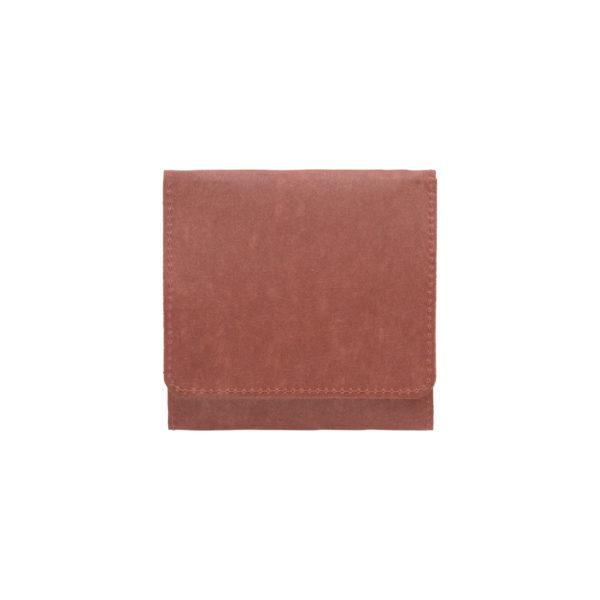 SIWA スナップ付きコインケース テラコッタ