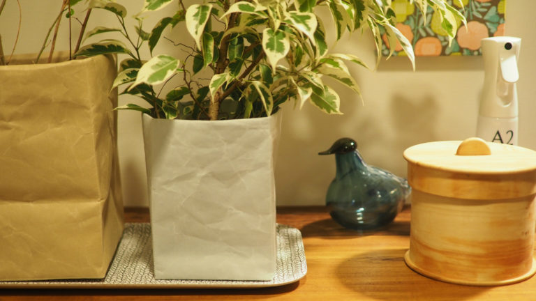 やさしい和紙の素材感が、暮らしに馴染むSIWAの収納ボックス