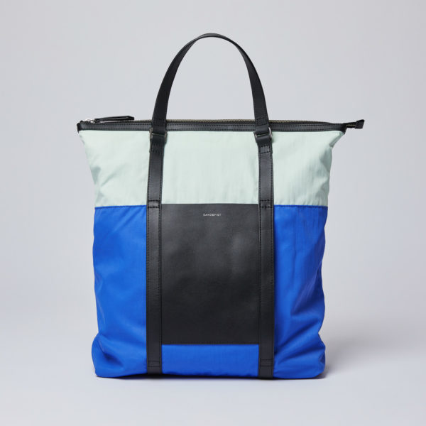 SANDQVIST サンドクヴィスト MARTA Multi color Blue/Green/Black leather