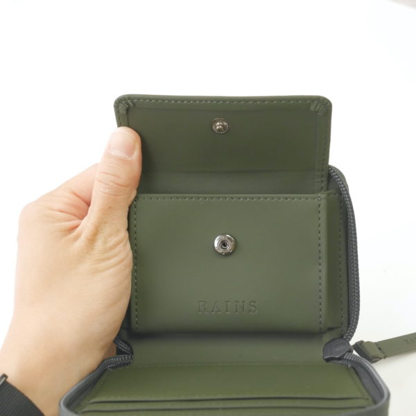 Small Wallet グリーン(RAINS レインズ)