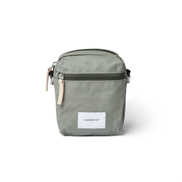 SANDQVIST サンドクヴィスト SIXTEN Dusty Green with natural leather