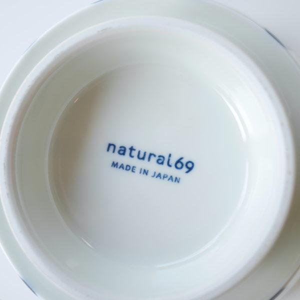 natural69 ナチュラルロック 焦がし呉須 丼 木の葉