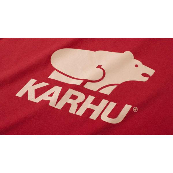 BasicLogo T-shirt バルバドスレッド / ミューテッドクレイ(KARHU カルフ アパレル)