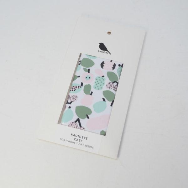 kauniste カウニステ  iPhoneケース Tutti Frutti ライトグリーン