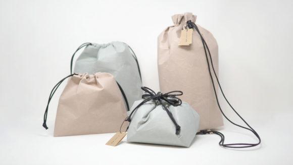 SIWA 巾着シリーズ、バッグの中身の小分けや近所へのちょっとした外出に