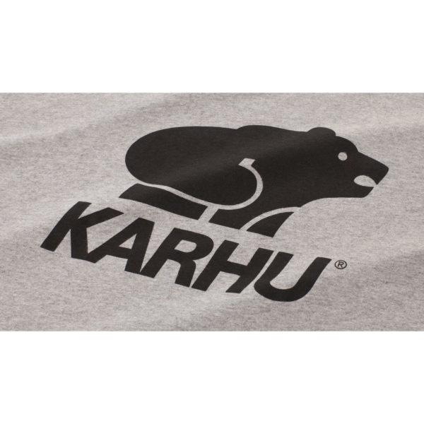 BasicLogo T-shirt ヘザーグレイ / ブラック(KARHU カルフ アパレル)