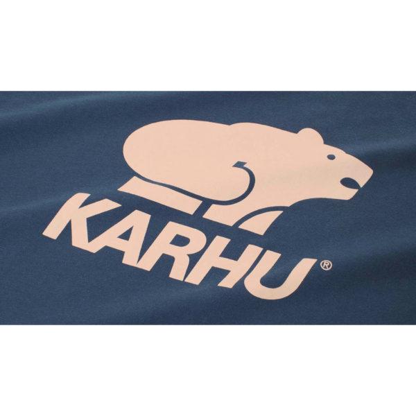 BasicLogo T-shirt ネイビーポセイドン / ミューテッドクレイ(KARHU カルフ アパレル)