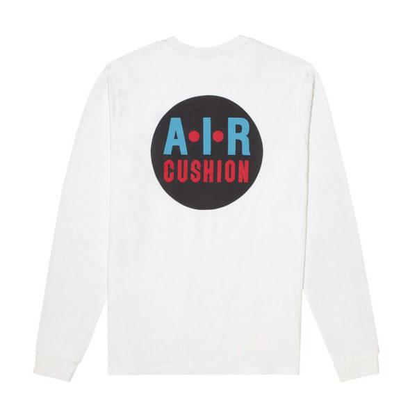 KARHU カルフ Tシャツ長袖 AIR CUSHION T-SHIRT WHITE
