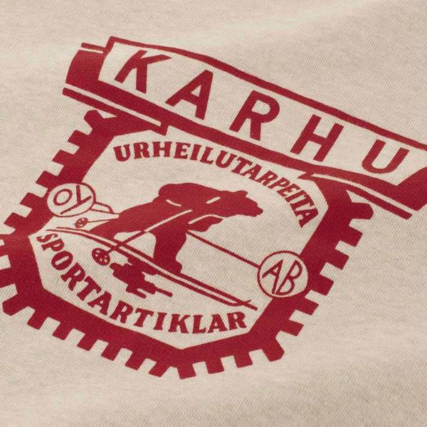 KARHU カルフ スウェット 1916 LOGO SWEATSHIRT OATMEAL MELANGE / GRANATA