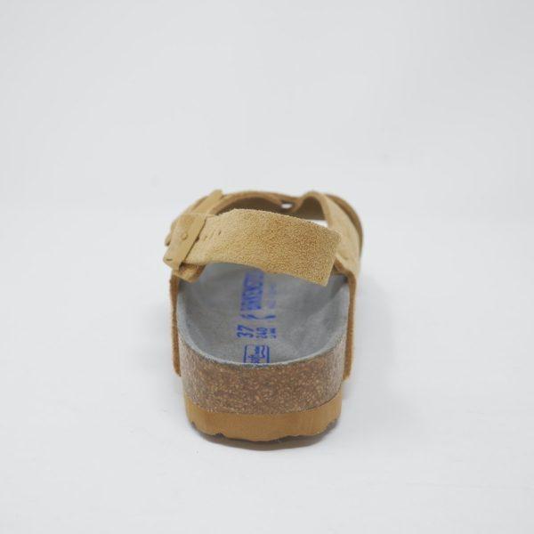 BIRKENSTOCK ビルケンシュトック Tulum トゥルム ソフトフットベッド Latte Cream