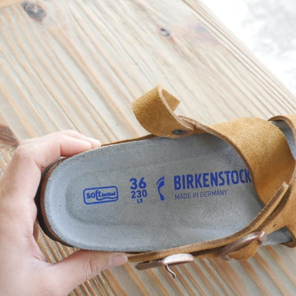 BIRKENSTOCK ビルケンシュトック Tulum トゥルム ソフトフットベッド ミンク