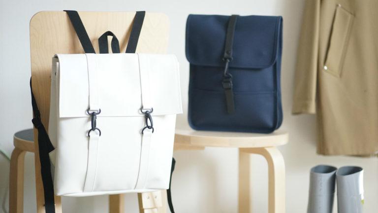 普段使いから雨の日まで使える、マットな質感が新鮮なバッグ「RAINS(レインズ)」