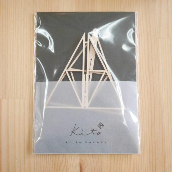 kito16 木製オーナメント  ピラミッド