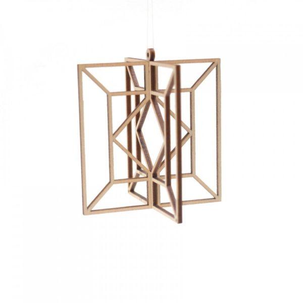 kito17 木製オーナメント  キューブ