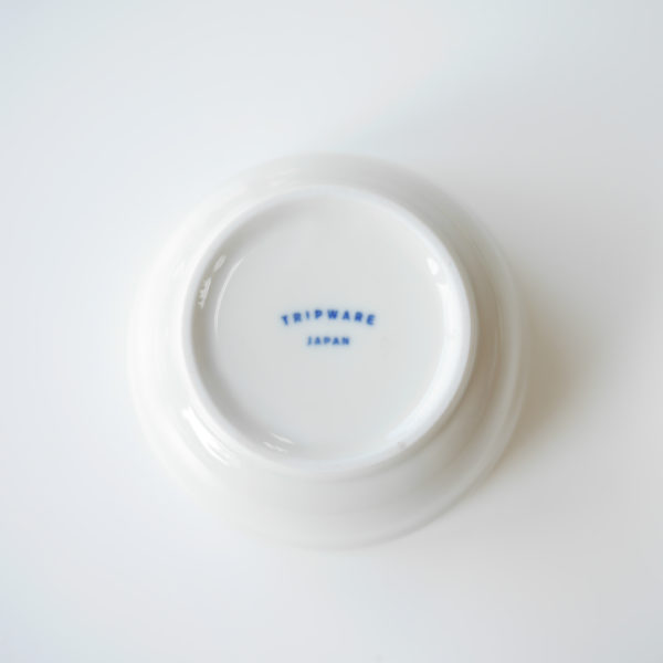 ヨシタ手工業デザイン室 TRIP WARE フタ付きボウル9cm 白釉