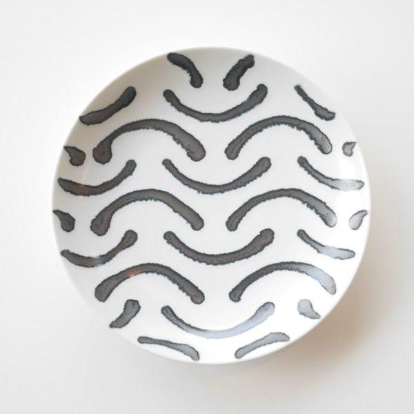 natural69 ナチュラルロック スチールライン 15cm 皿 スマイル