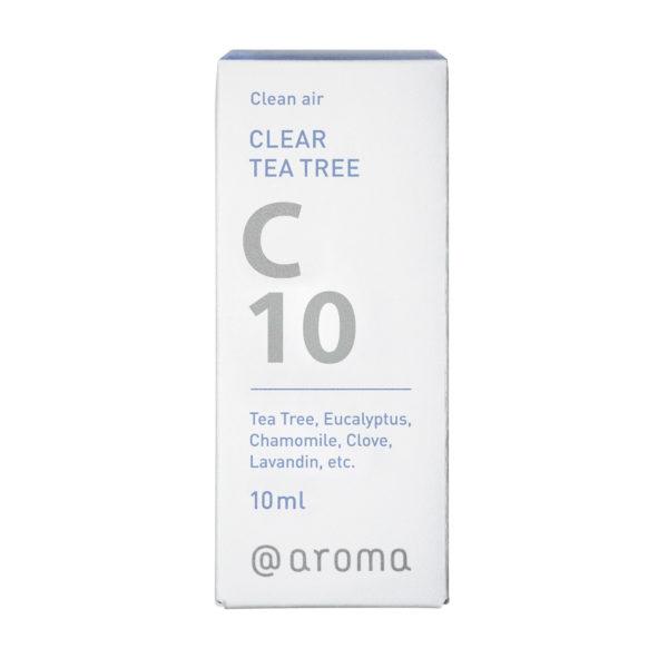 アットアロマ エッセンシャルオイル C10 クリアーティートリー 10ml