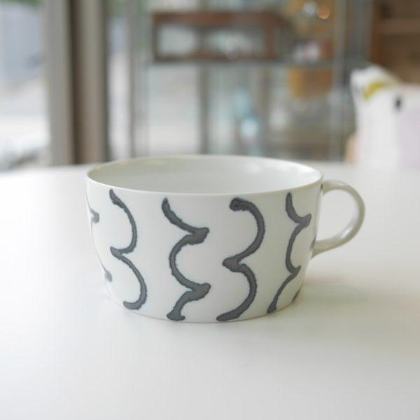 natural69 ナチュラルロック スチールライン スープカップ マカロニ 波佐見焼