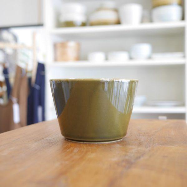 TRIP WARE ストレートボウル130 緑釉 美濃焼 ヨシタ手工業デザイン室