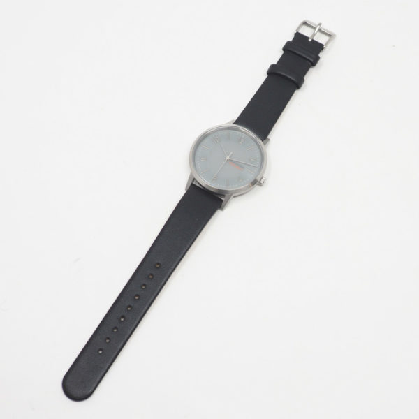 innovator イノベーター 腕時計 ソーラーウォッチSOLKRAFT  ブラック×シルバー 38mm