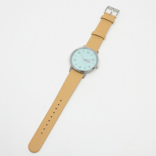 innovator イノベーター 腕時計 ソーラーウォッチSOLKRAFT ベージュ×シルバー 38mm
