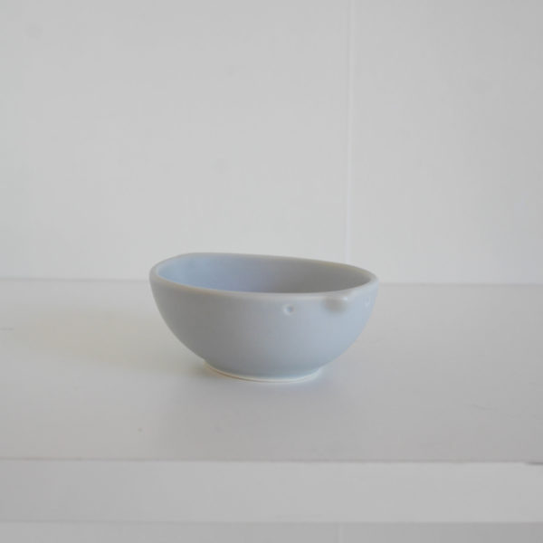 美濃焼 miyama 深山 cotori-コトリ- 10.5cmベビーボウル グレーマット