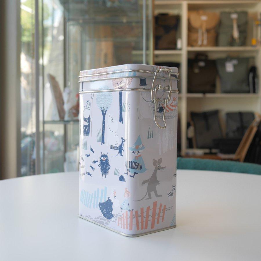 MOOMIN ムーミン ブリキ缶 コーヒー缶 ムーミンフォレスト