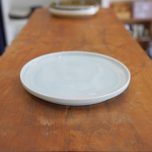 TRIP WARE フタ160 プレート16.8cm 水釉 美濃焼 ヨシタ手工業デザイン室