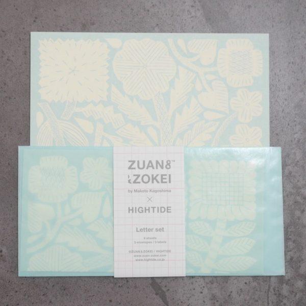 ZUAN&ZOKEI Letter Set レターセット ミント