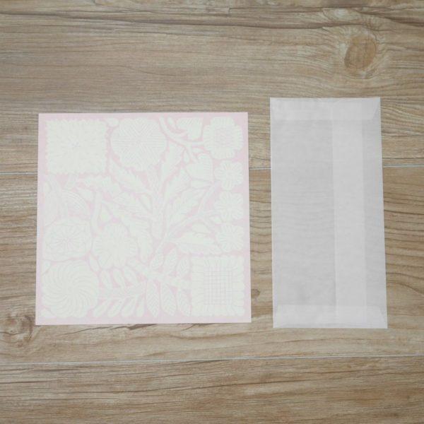 ZUAN&ZOKEI Letter Set レターセット ピンク