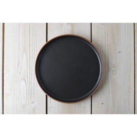 東峰窯 Luca (ルカ) 24.5cm切立プレート アルベロ[H701]